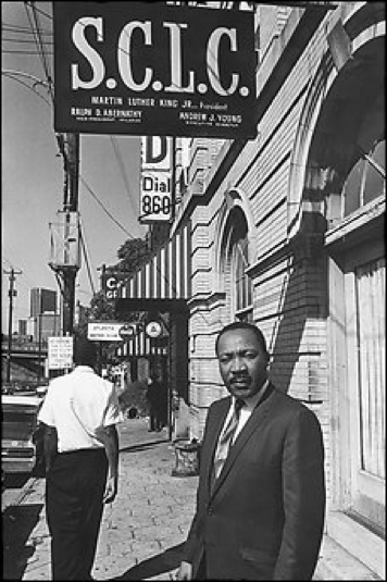 Witnessing the power of movement centers to transform entire cities, King and others formed the Southern Christian Leadership Conference (SCLC) to cultivate the growth of hubs for nonviolent direct action.  Morris writes,