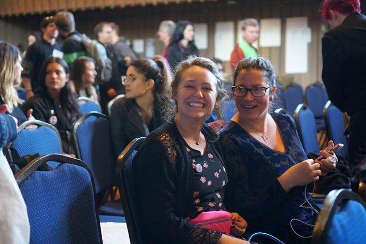 Calen Otto and Arwen Carlin ready to listen and learn