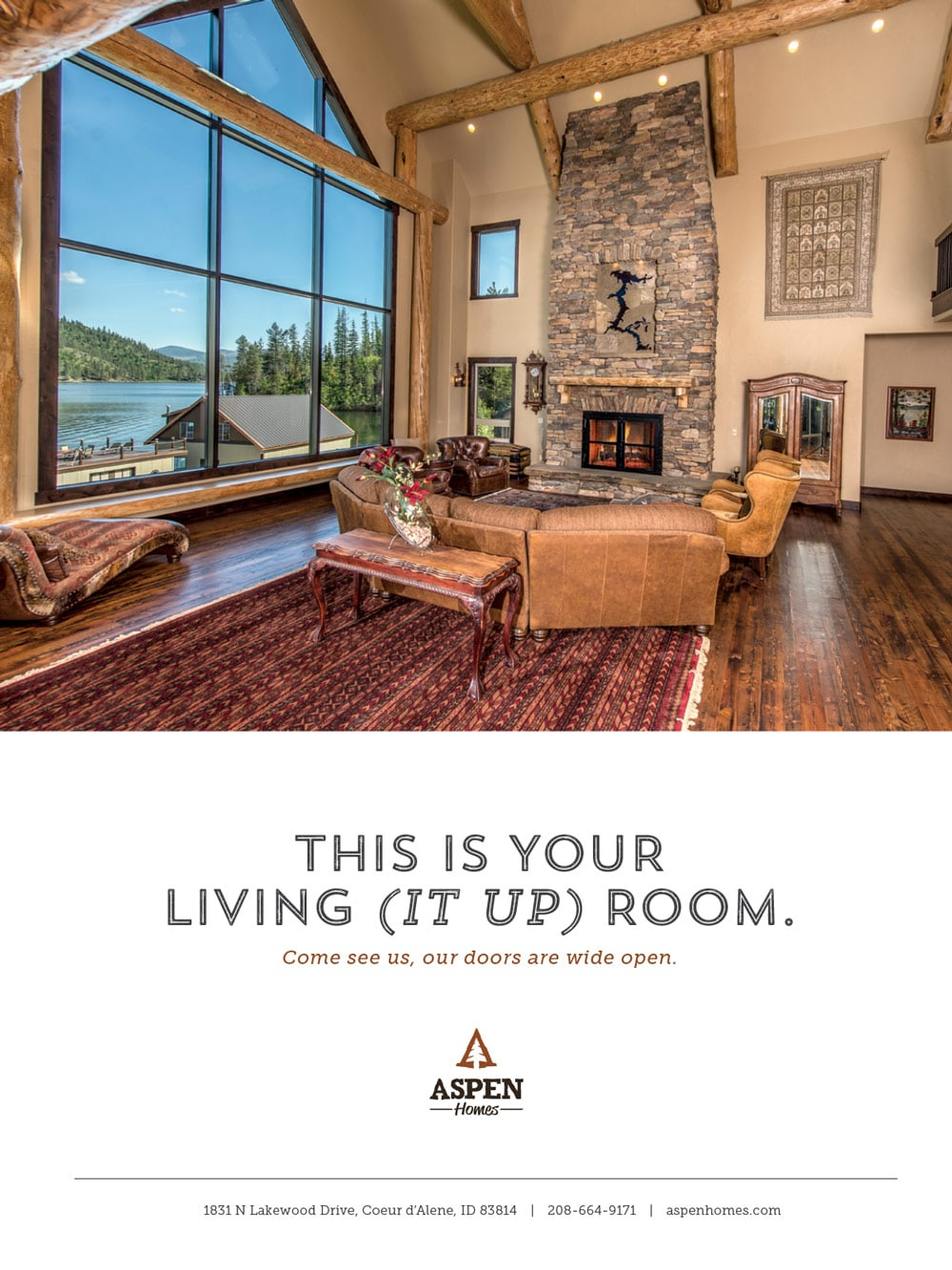 Aspen homes magazine ad 04