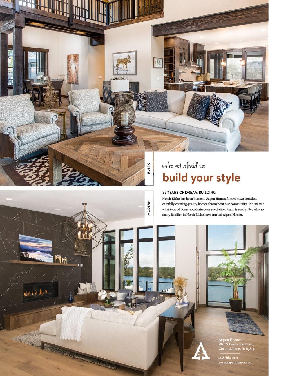 Aspen homes magazine ad 03