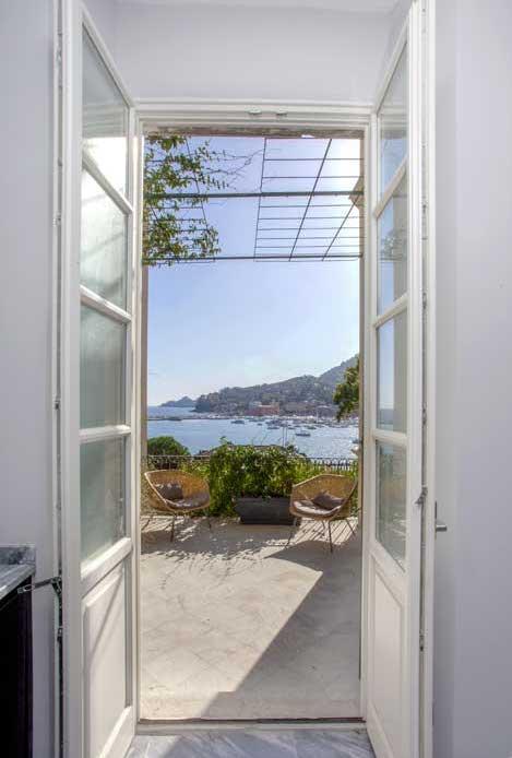 finestra villa con vista santa margherita
