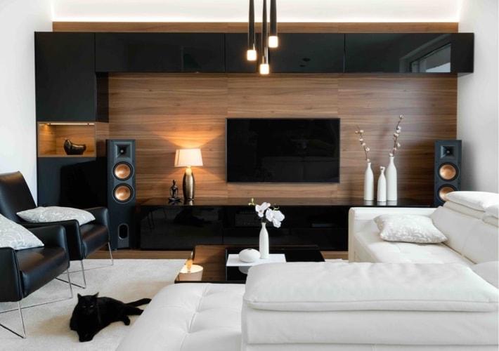 sala de estar estilo moderno