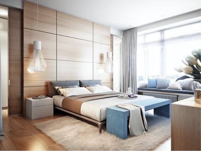 quarto moderno decoração