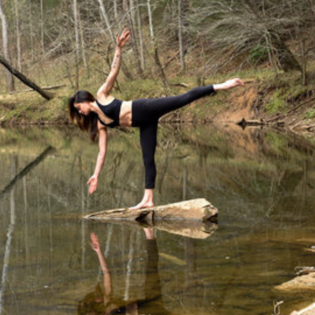 Sandy started her yoga journey 7 years ago after injuries sustained after 16 years of ballet and a bad fall while rock climbing. While her flows can be athletic she has a strong respect for modification and reminds her students to respect their bodies and their practice while they weave breath to movement.