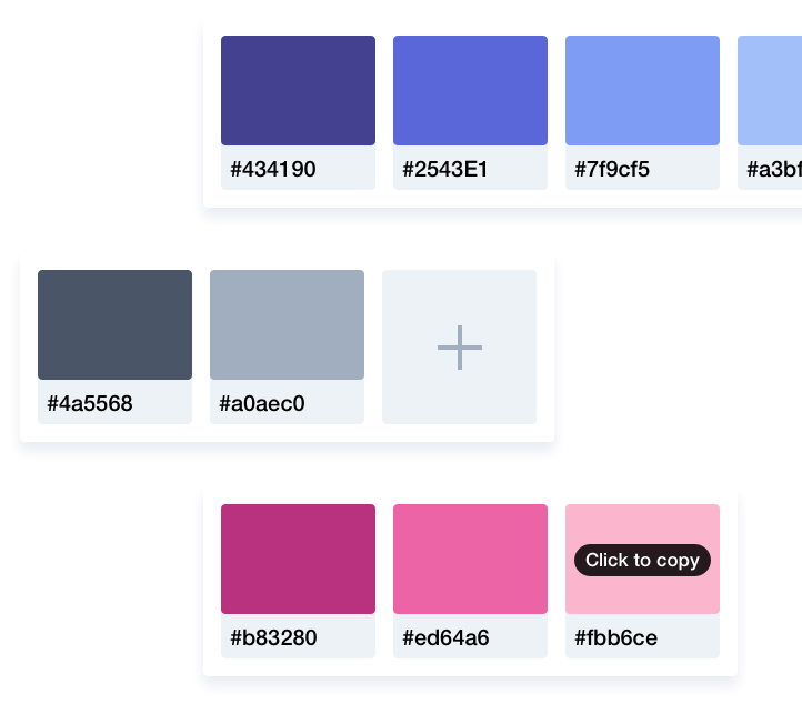 Color palettes where everyone can see them with Brandy - Your brand (new) asset manager