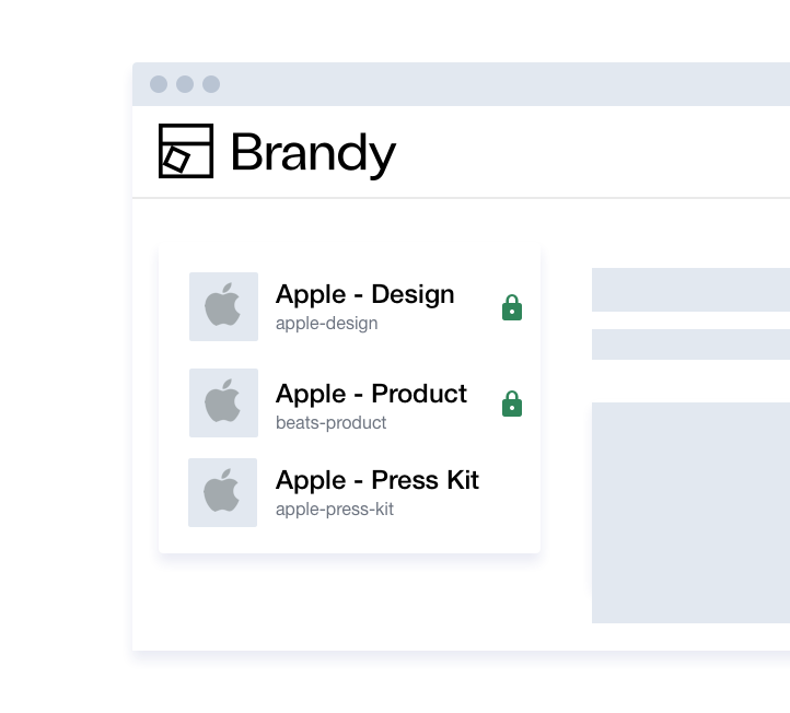 Managing multiple brands with Brandy - Your brand (new) asset manager