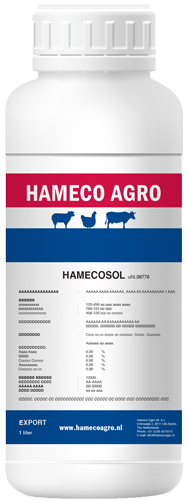 Hamecosol products for oral use