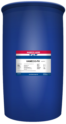 Hameco PH barrel feed additives dry