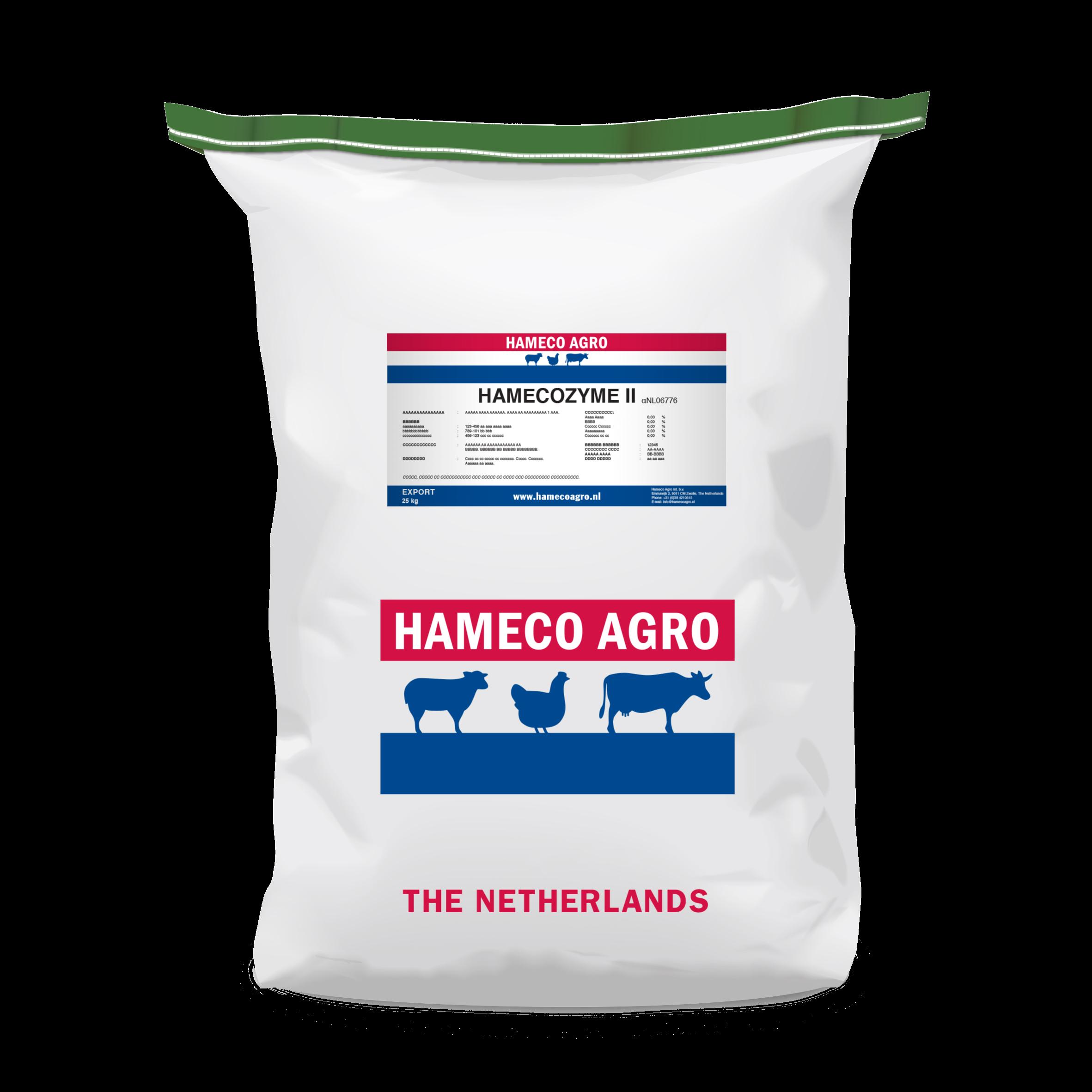 Hamecozyme II feed additives dry bag