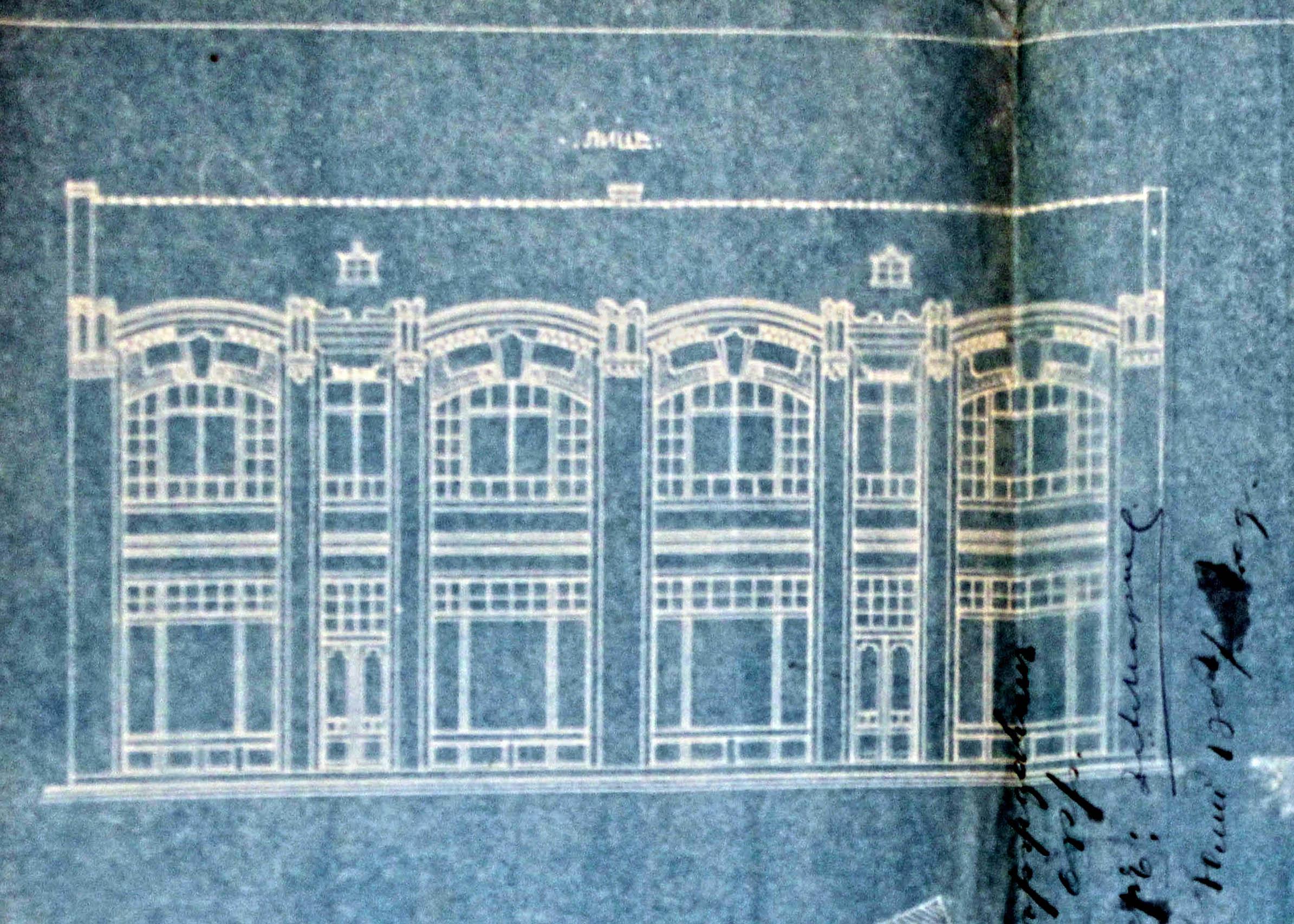 Проект - 1907г. /изт.: Архив-Община Варна/