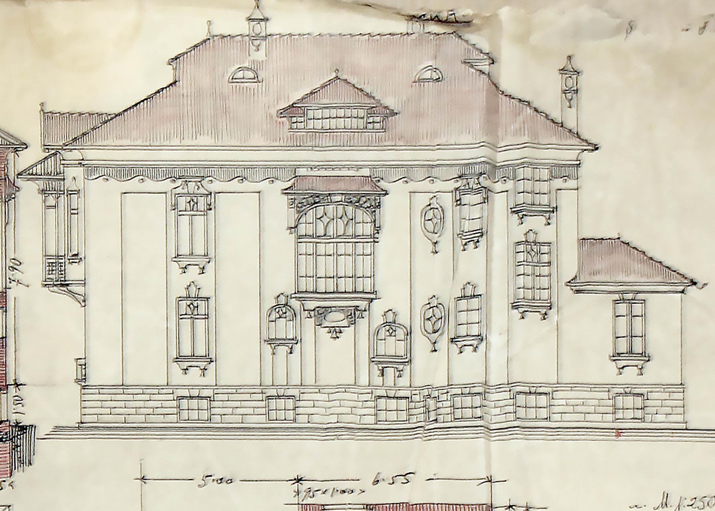 Проект - 1921г. /изт.: Архив-Община Варна/
