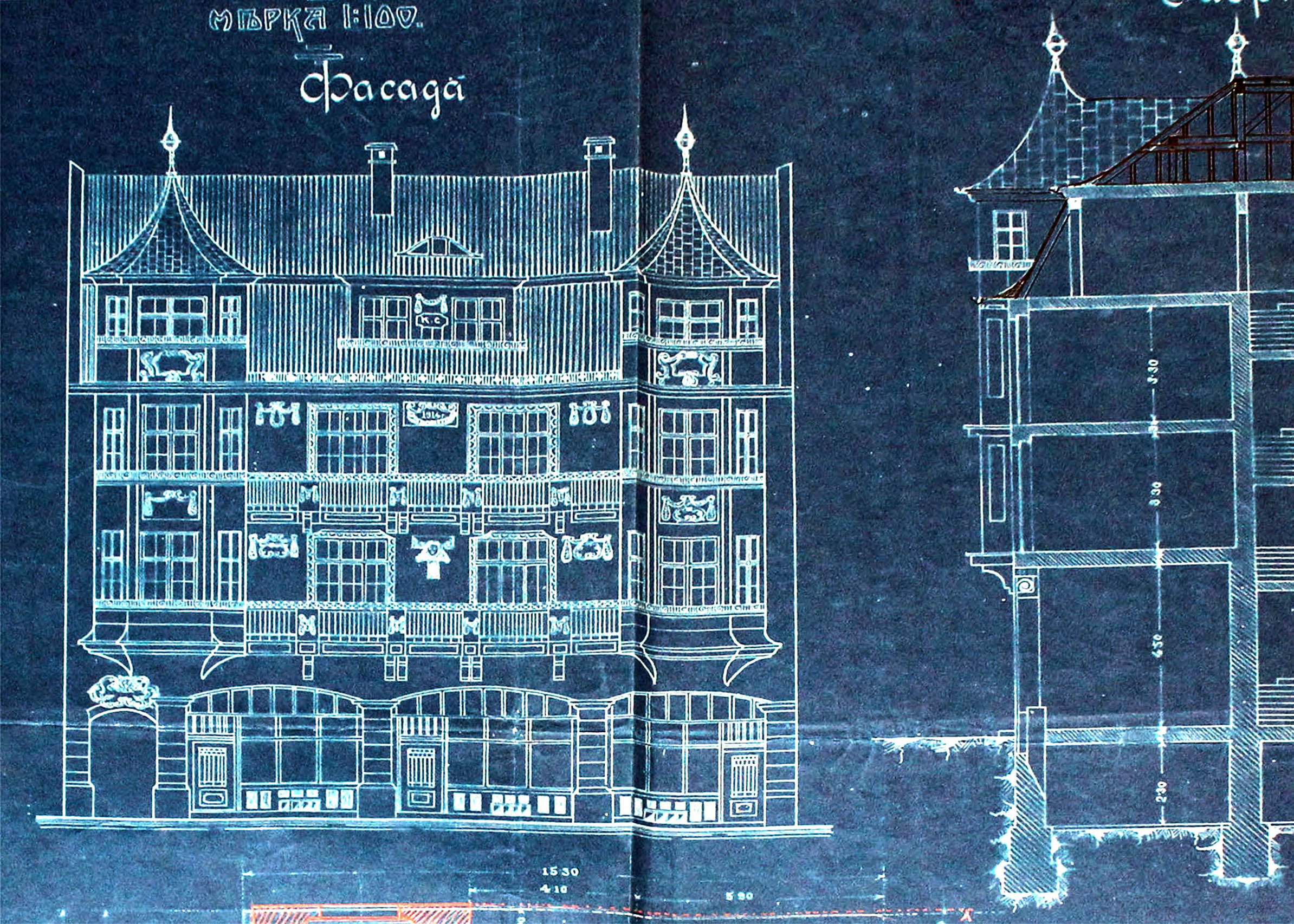 Проект - 1914г. /изт.:Архив-Община Варна/