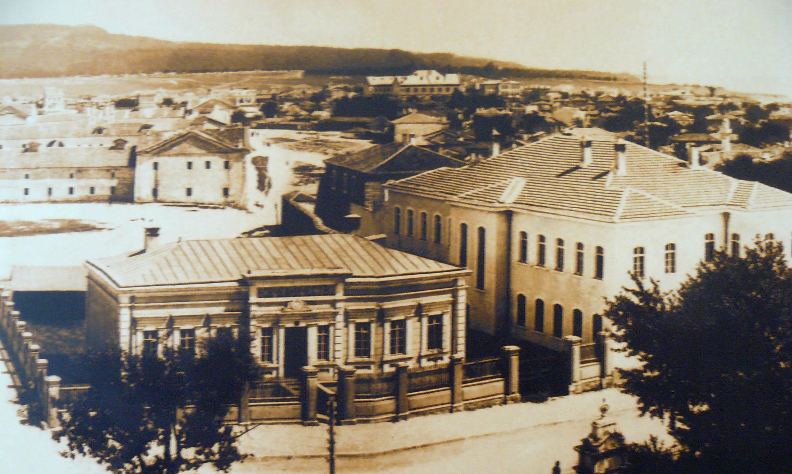 Архивен изглед от началото на 20-ти век