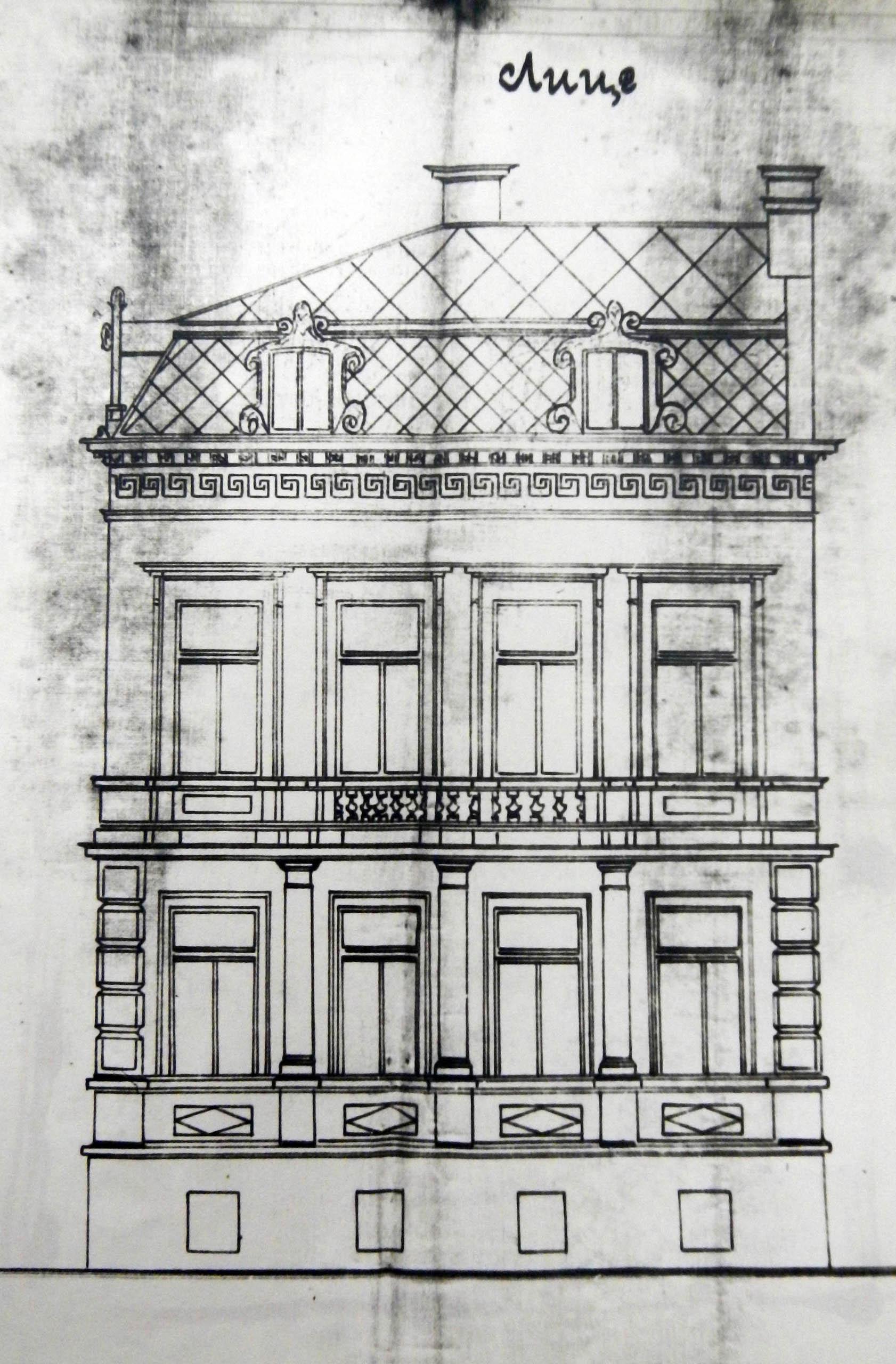 Проект - 1900г. /изт.: Архив-Община Варна/