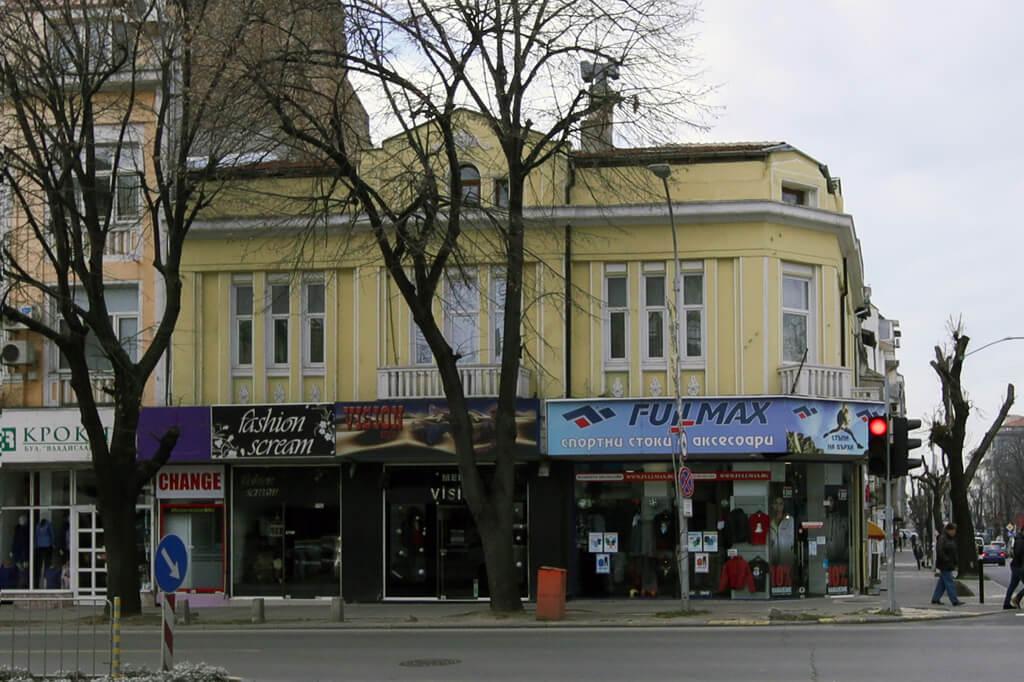 Жилищно-търговска сграда