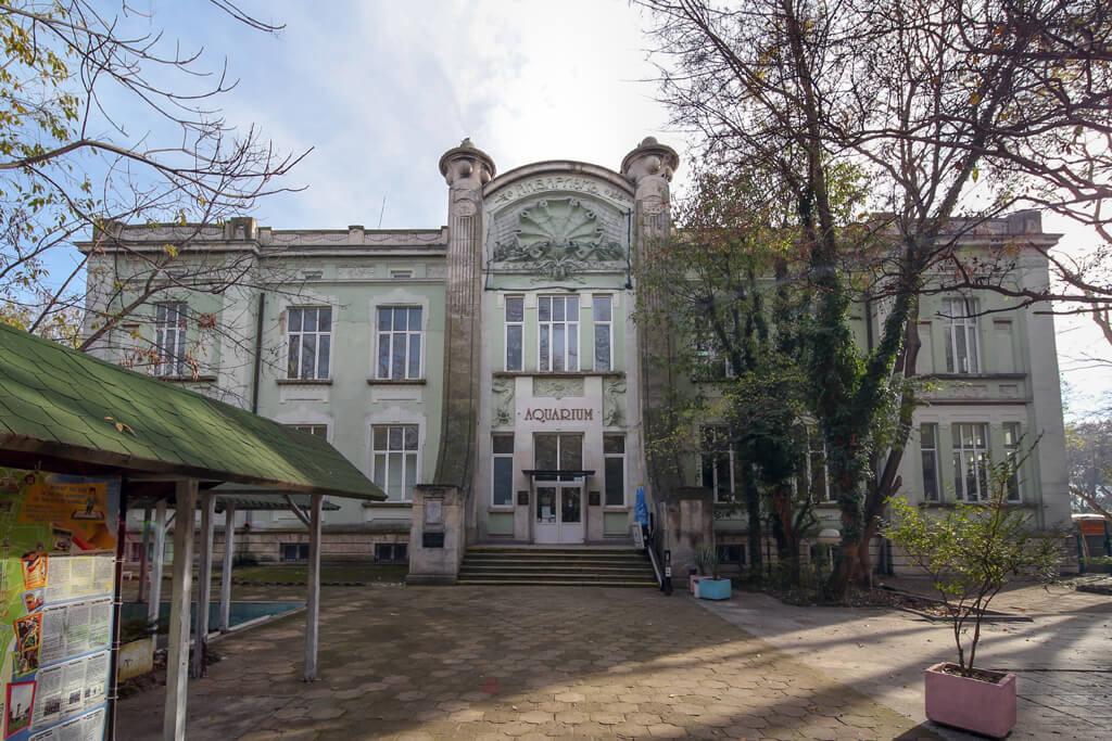 Аквариум - Варна /Институт по рибарство и аквакултури/