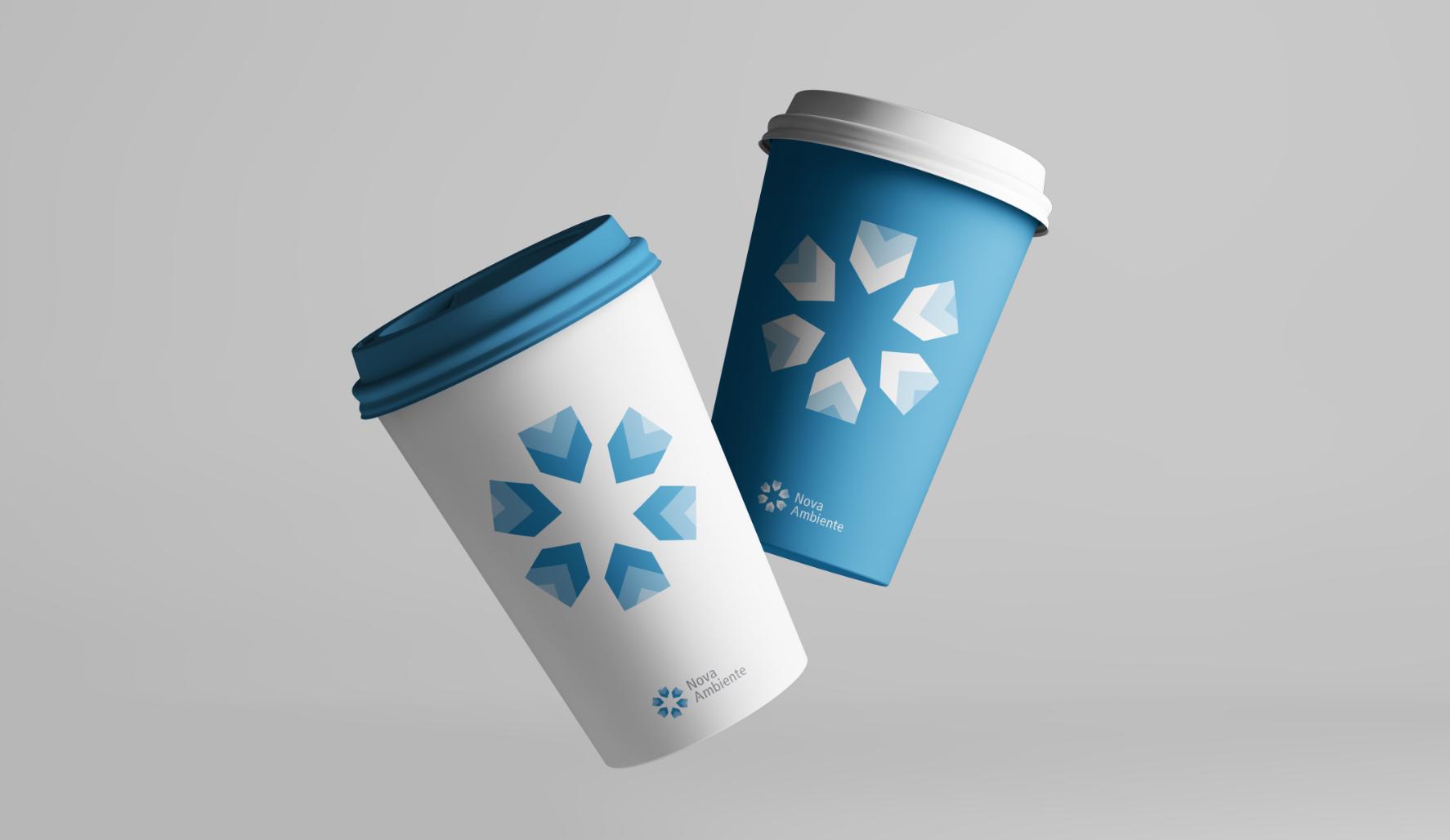 Nova-Ambiente brand identity design