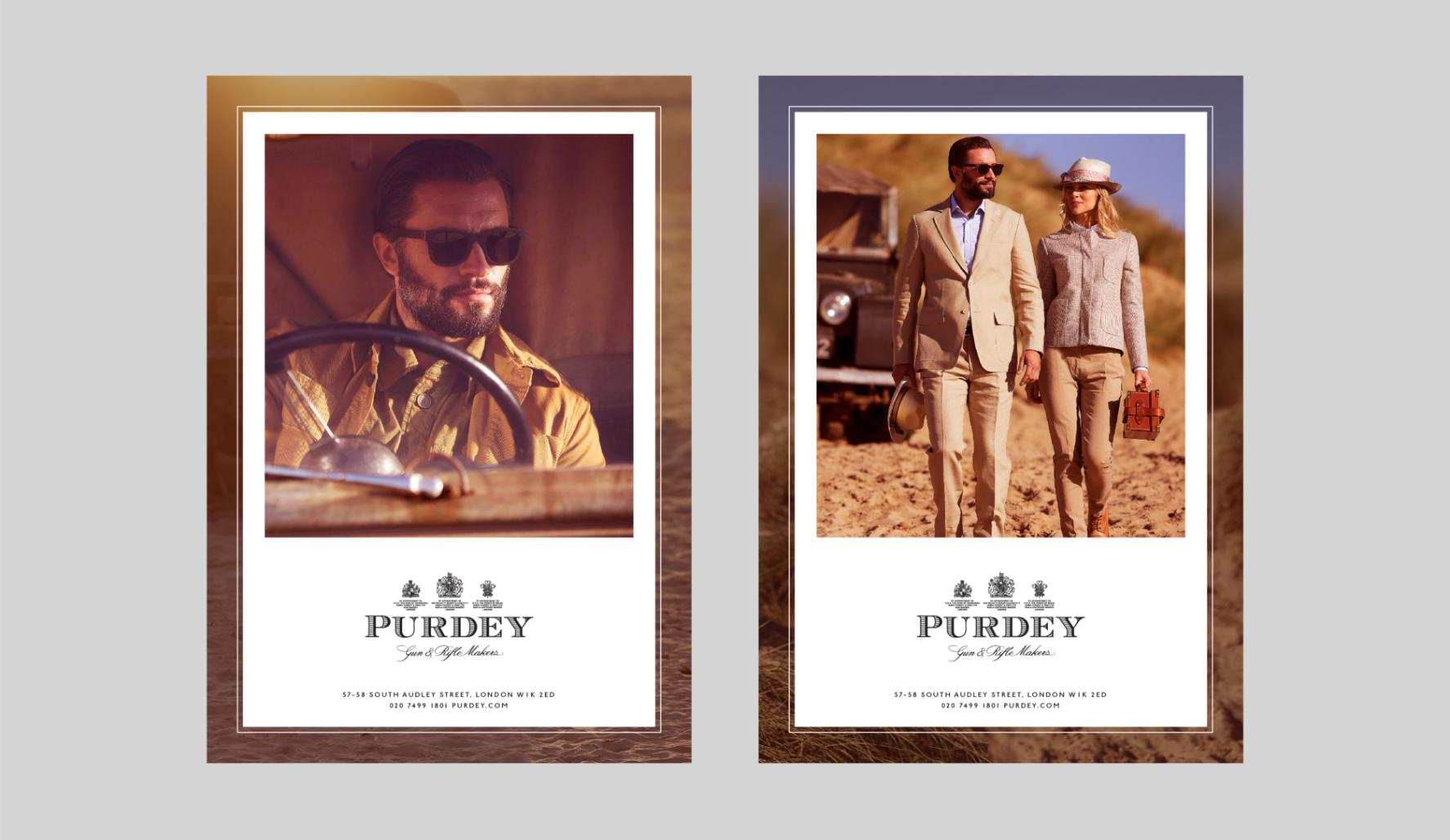 Purdey advertising