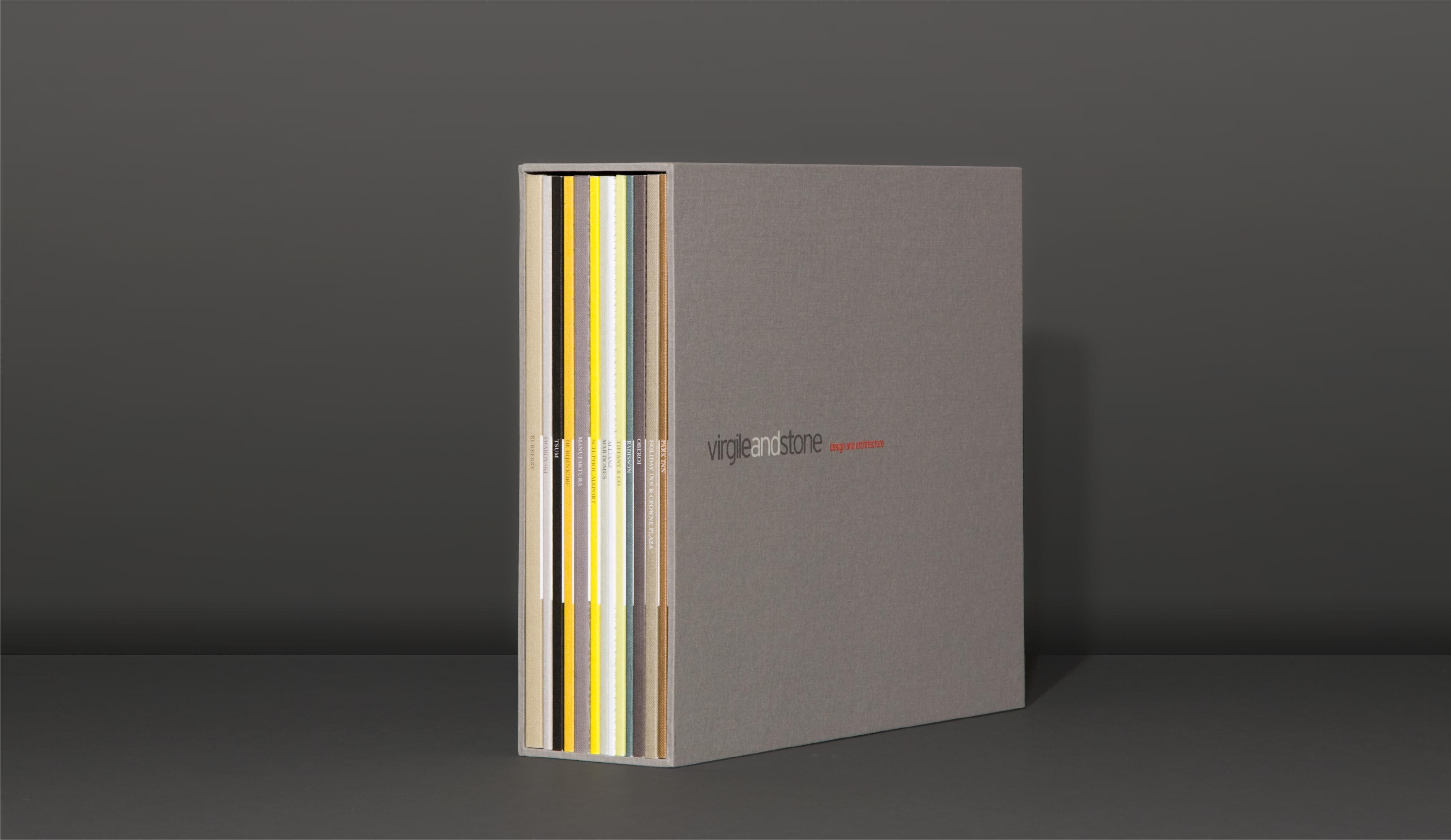 Virgile and Stone promotional book design