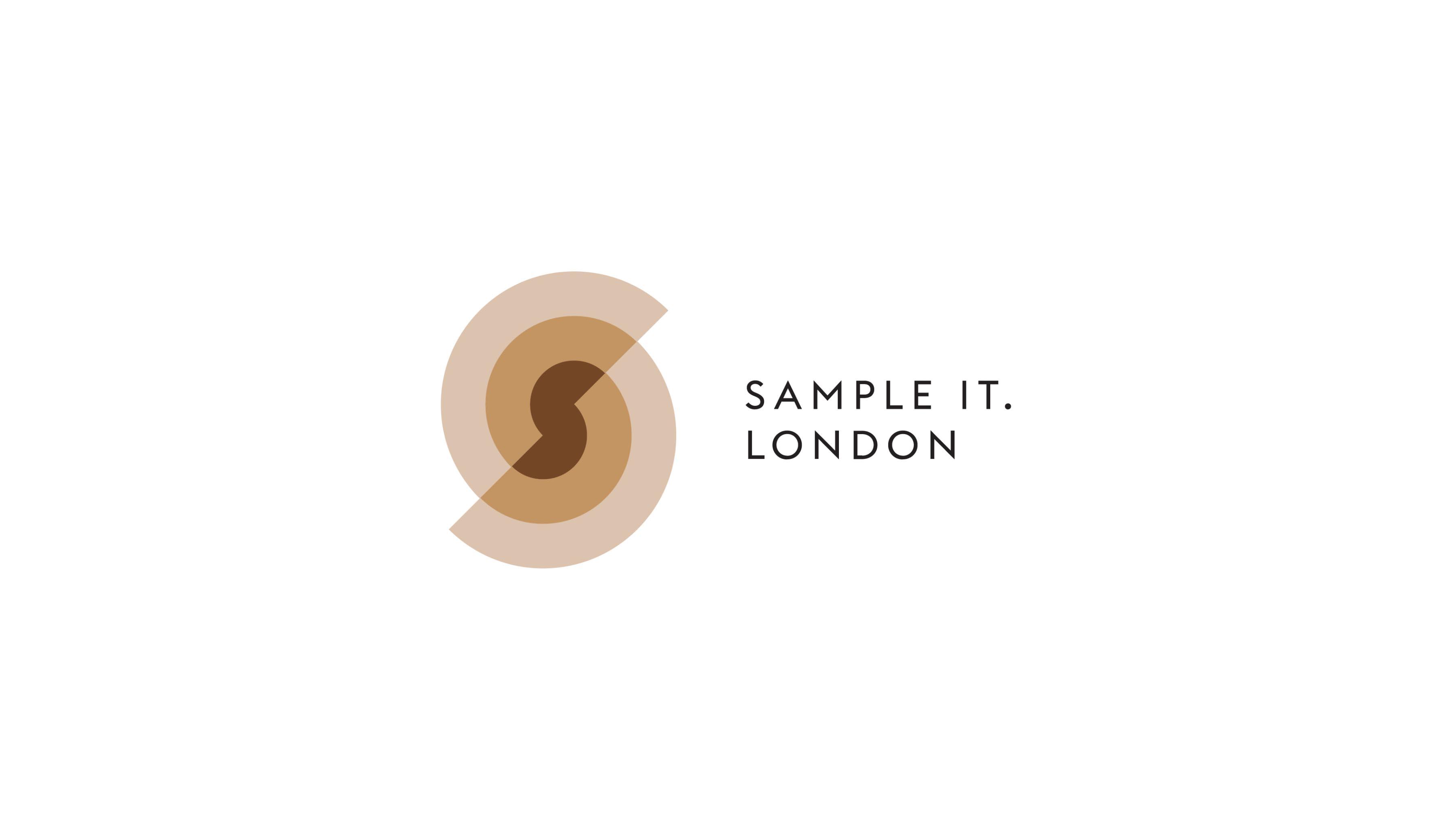 Sample It. London brand identity design