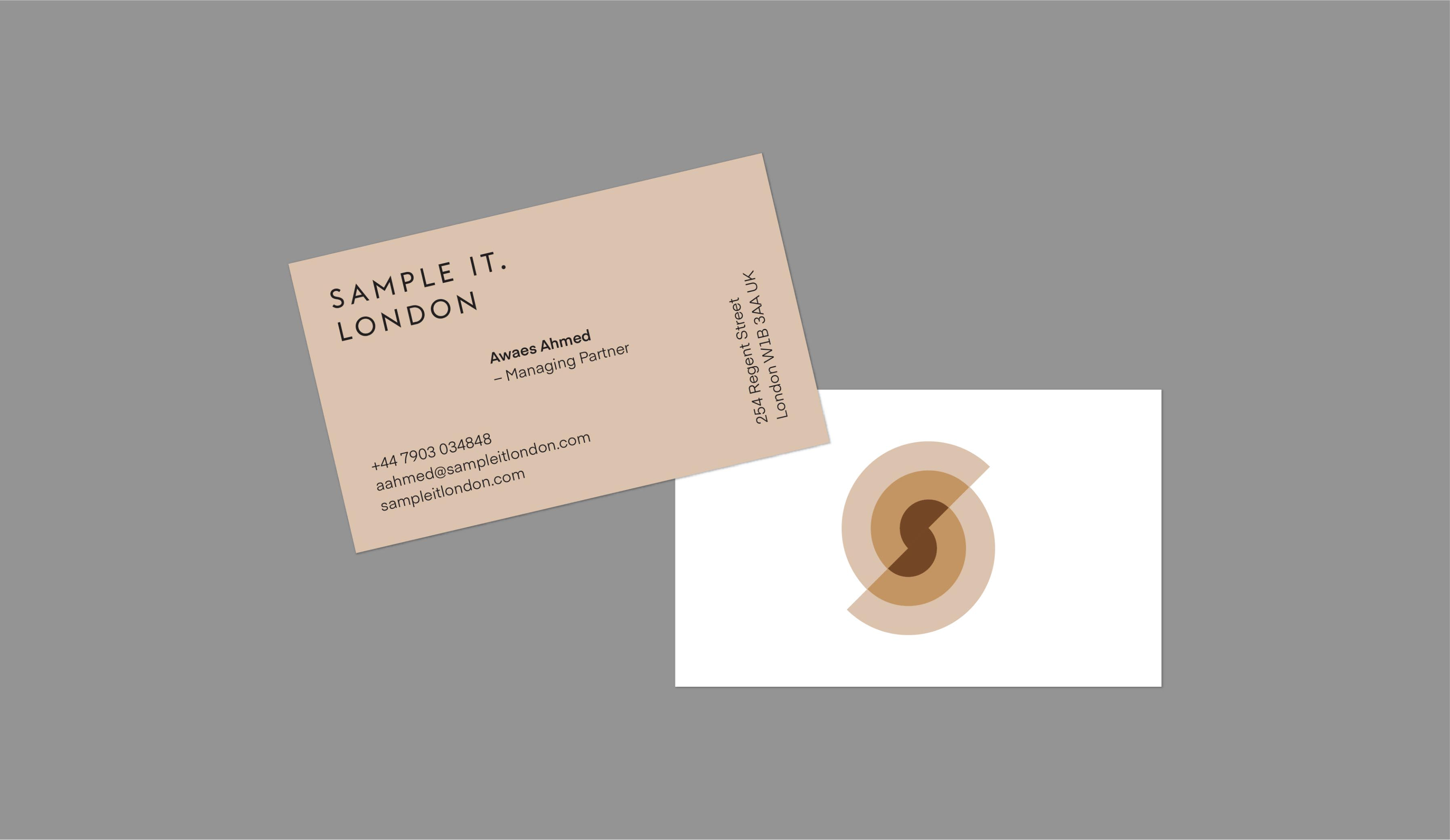 Sample It. London brand identity and packaging design