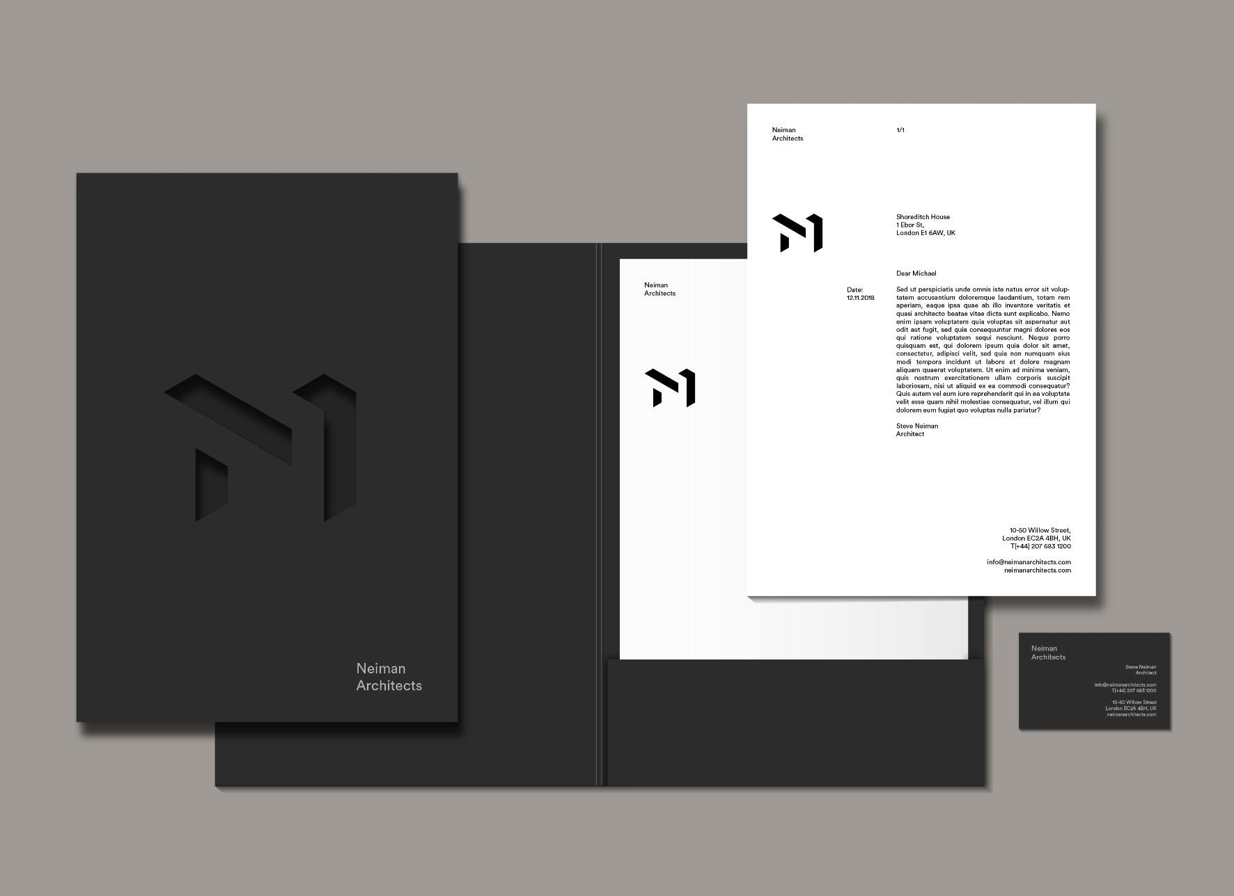 architecture company brand identity design