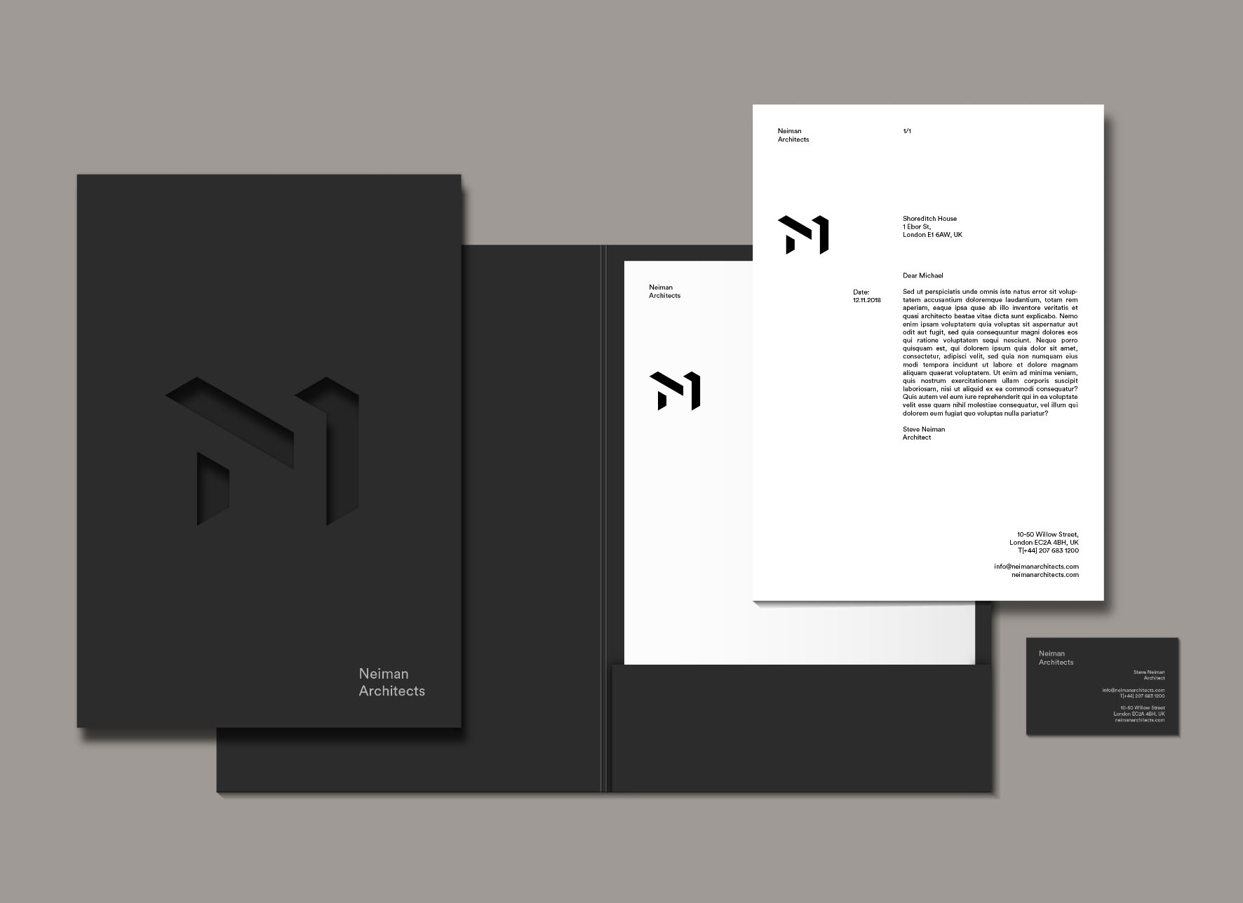 Neiman Architects branding