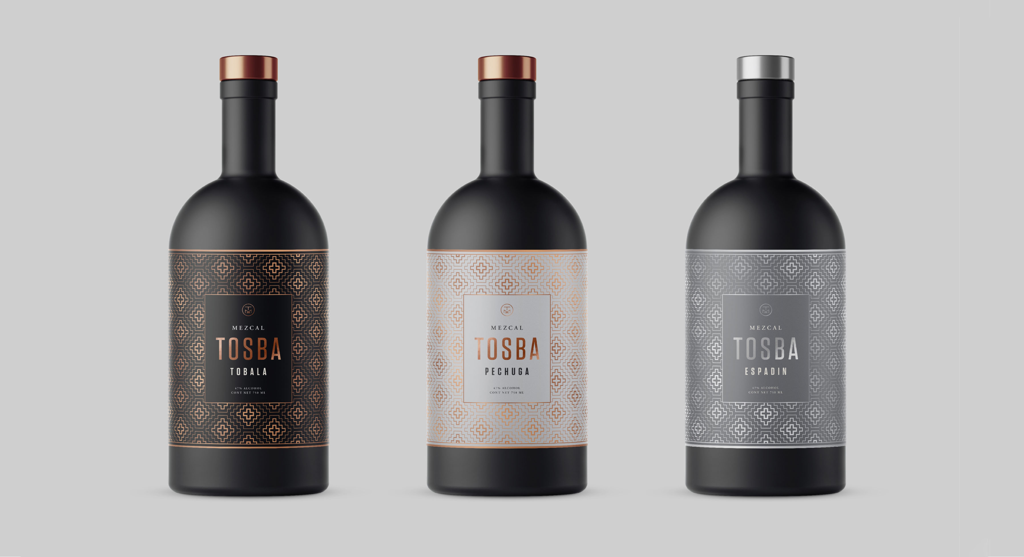 Mezcal Tosba Packaging Design
