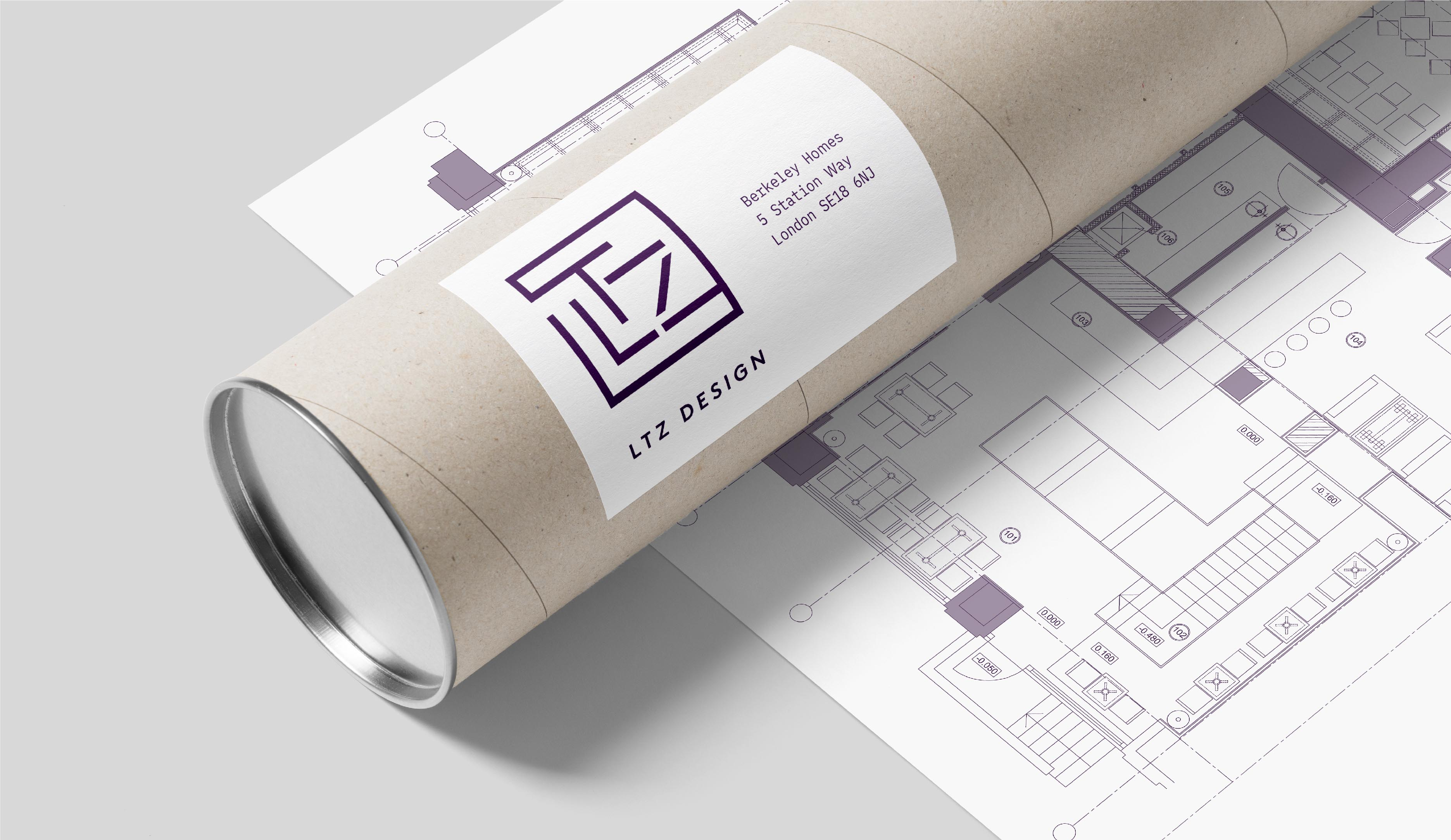 LTZ Design brand identity