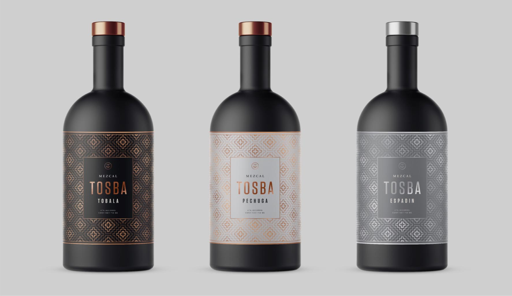 Mezcal Tosba Packaging Design Bottle Design