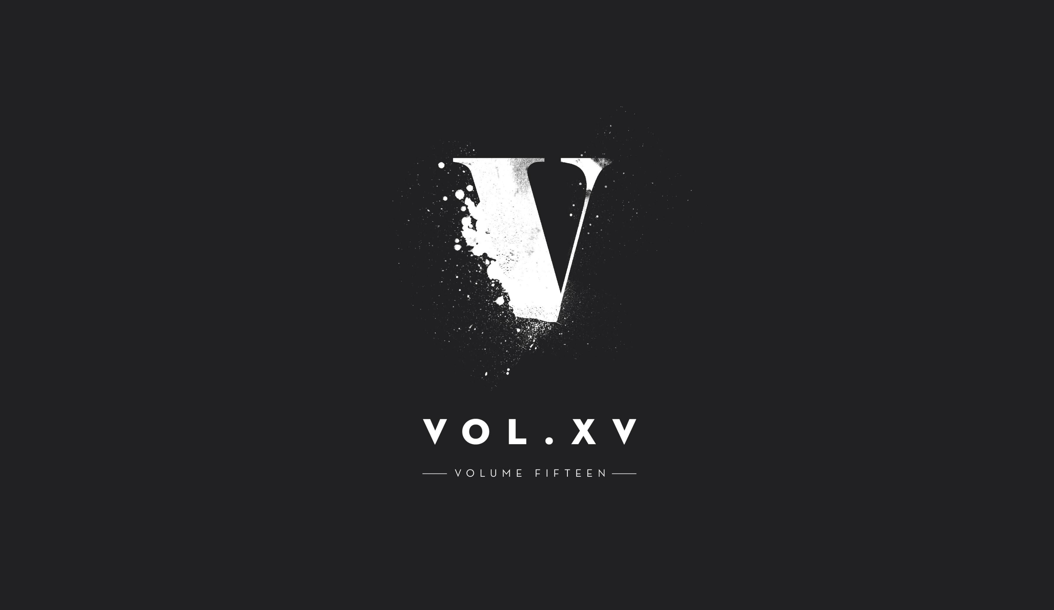 Vol XV logo design