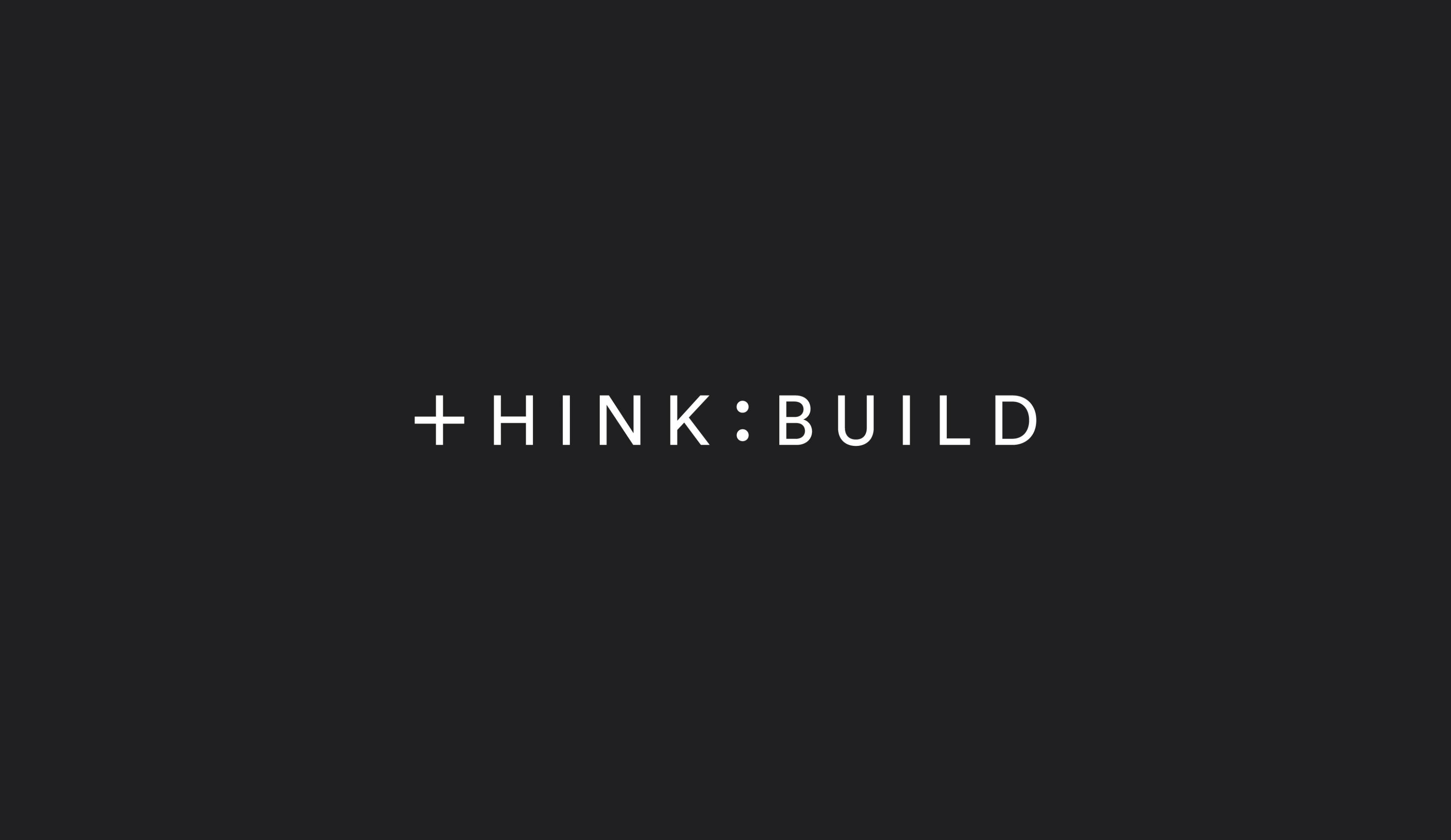 Think:Build logo design