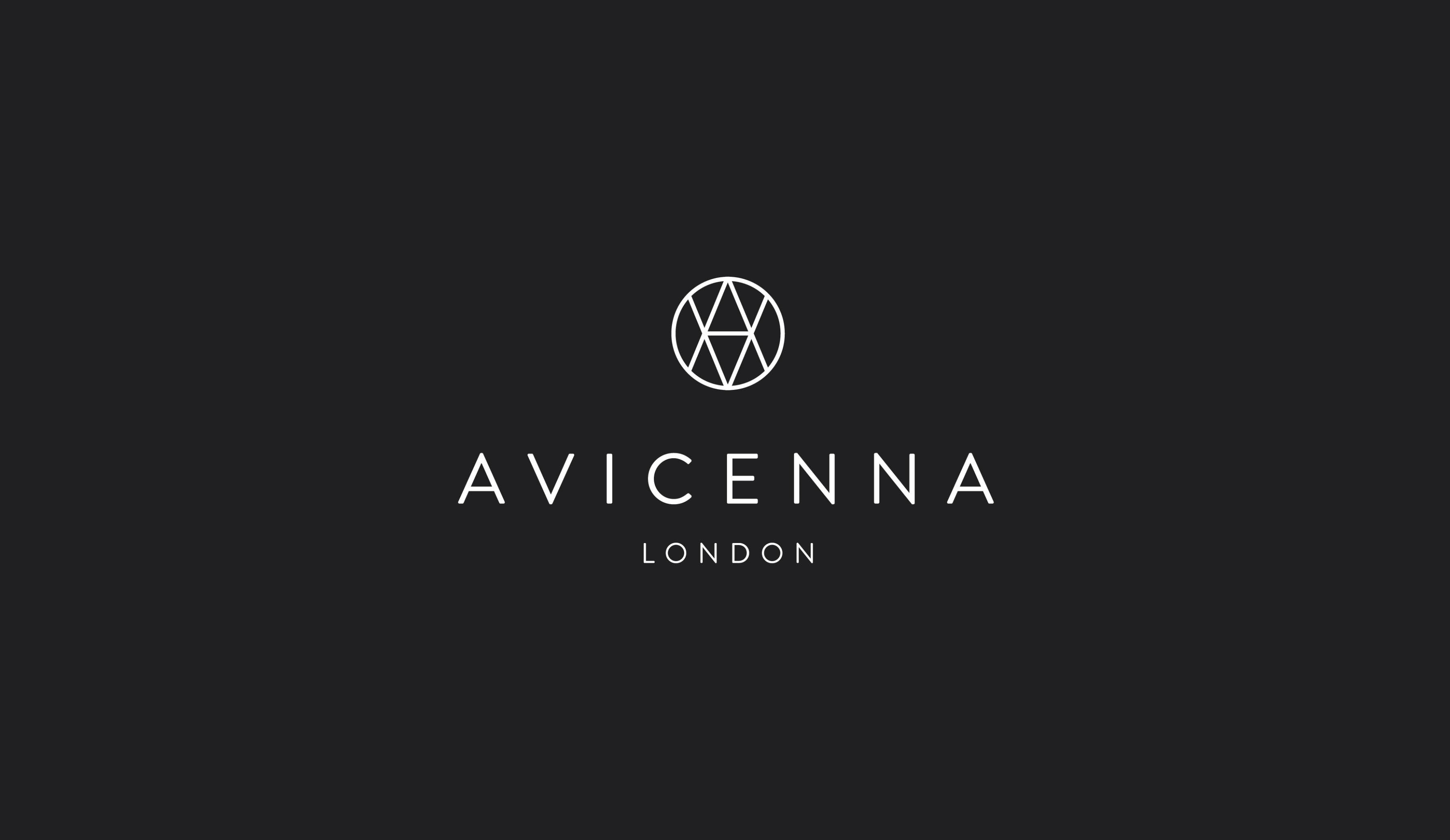 Avicenna perfume shop logo design