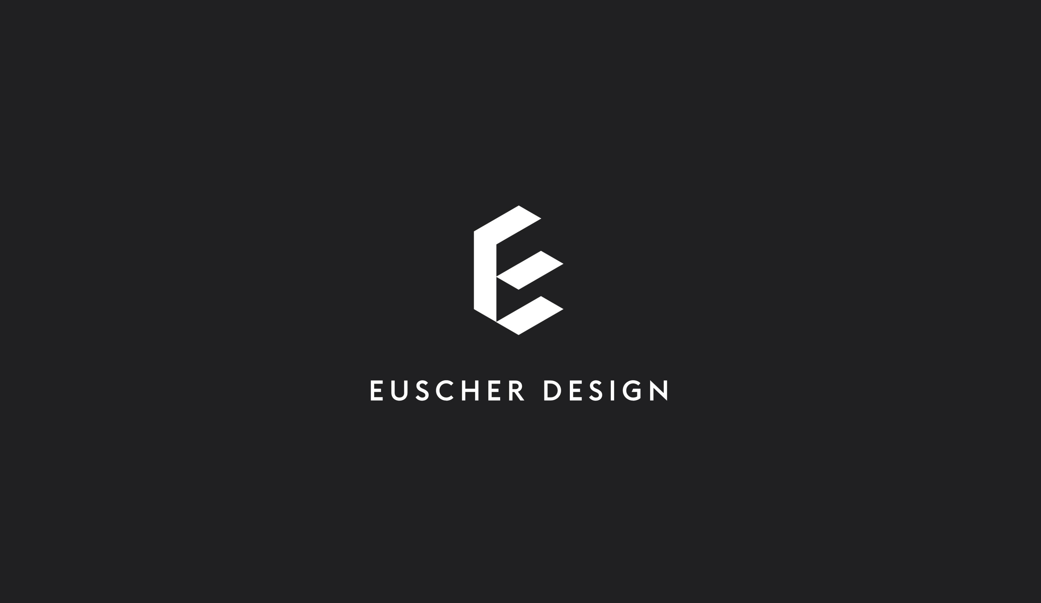 Euscher Design logo design