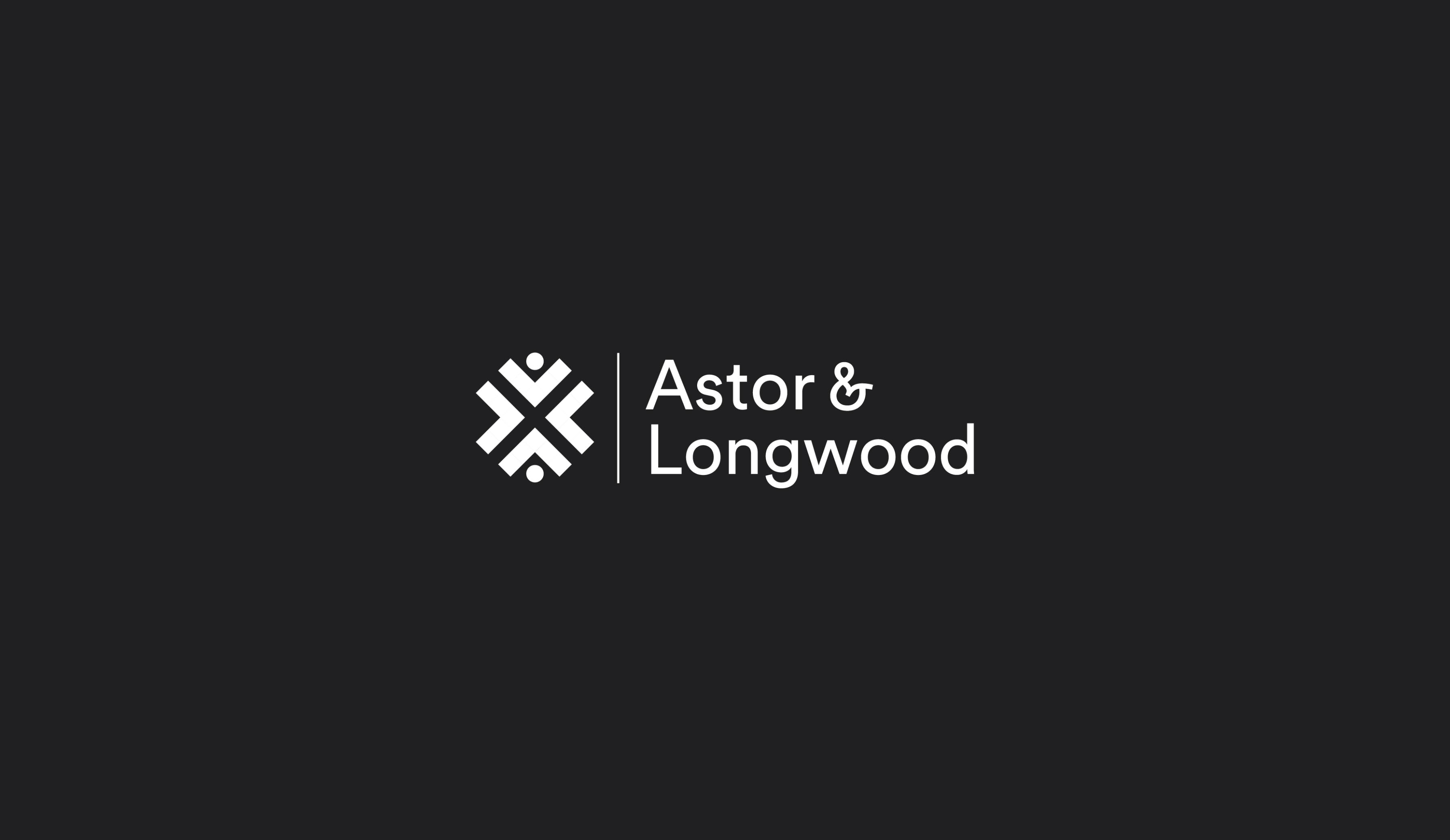 Astor and Longwood logo design