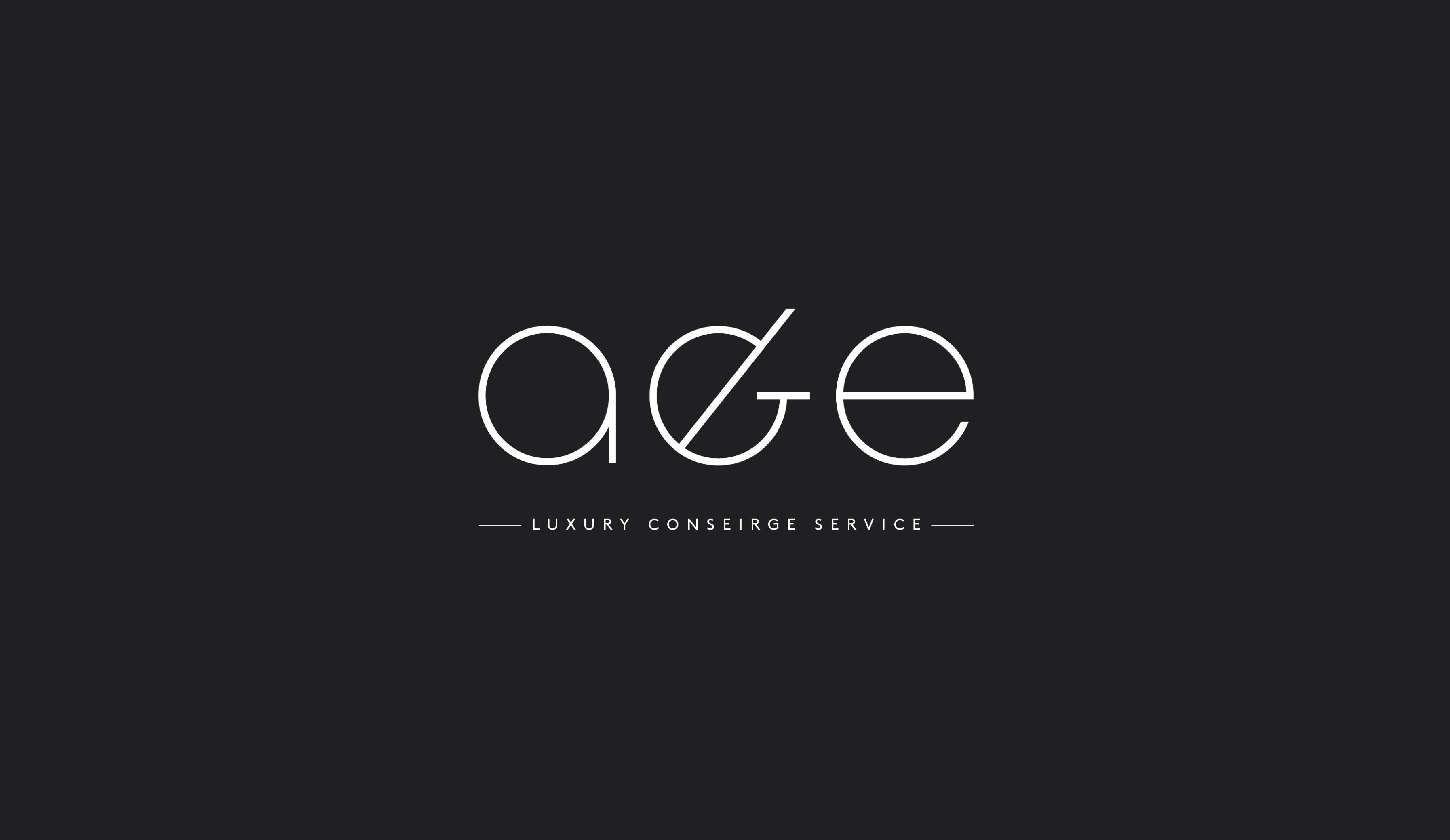 luxury conseirge service logo design