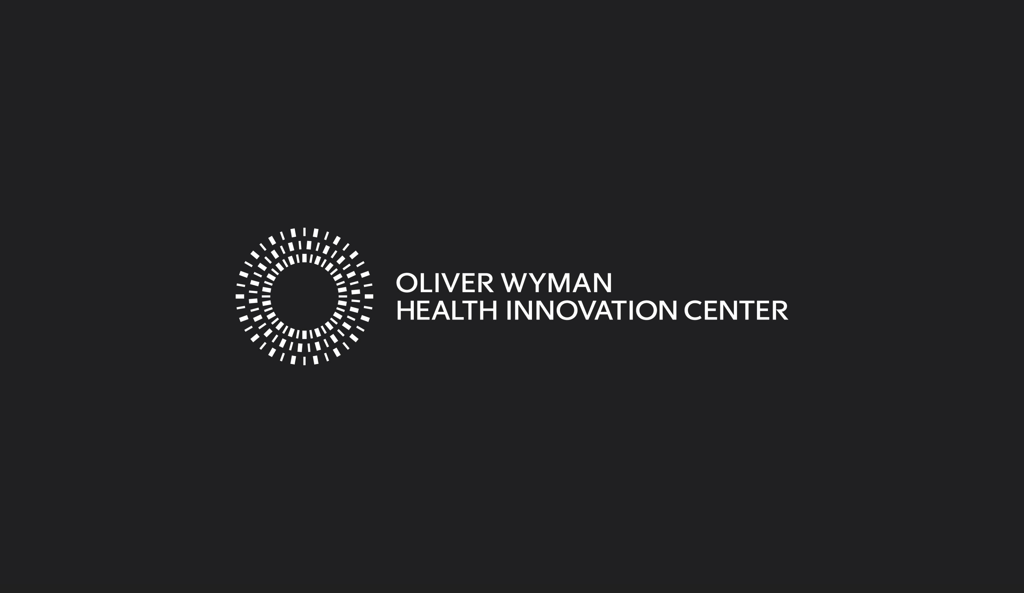 Oliver Wyman Health Innovation Center logo design