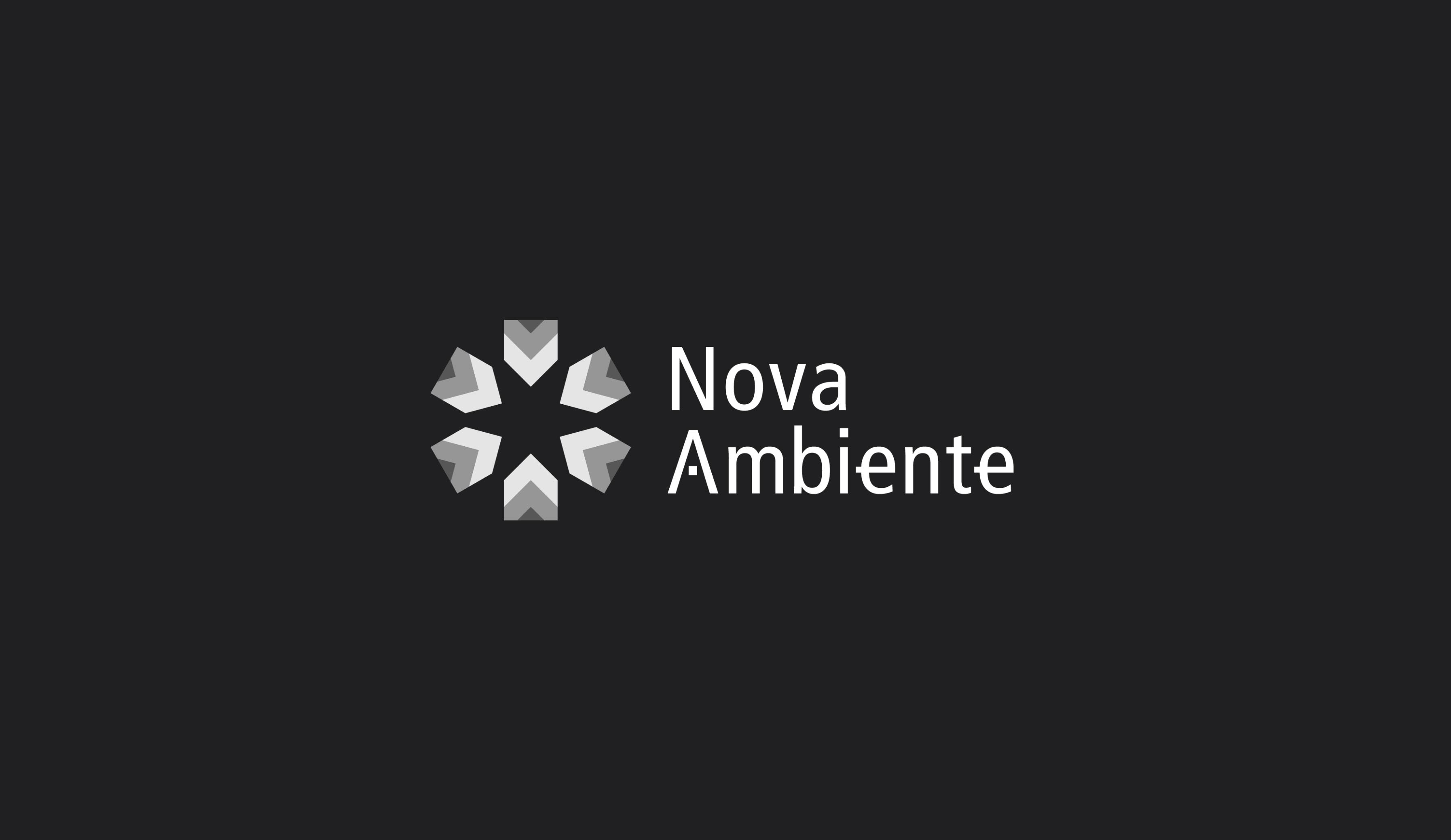 Nova-Ambiente logo design