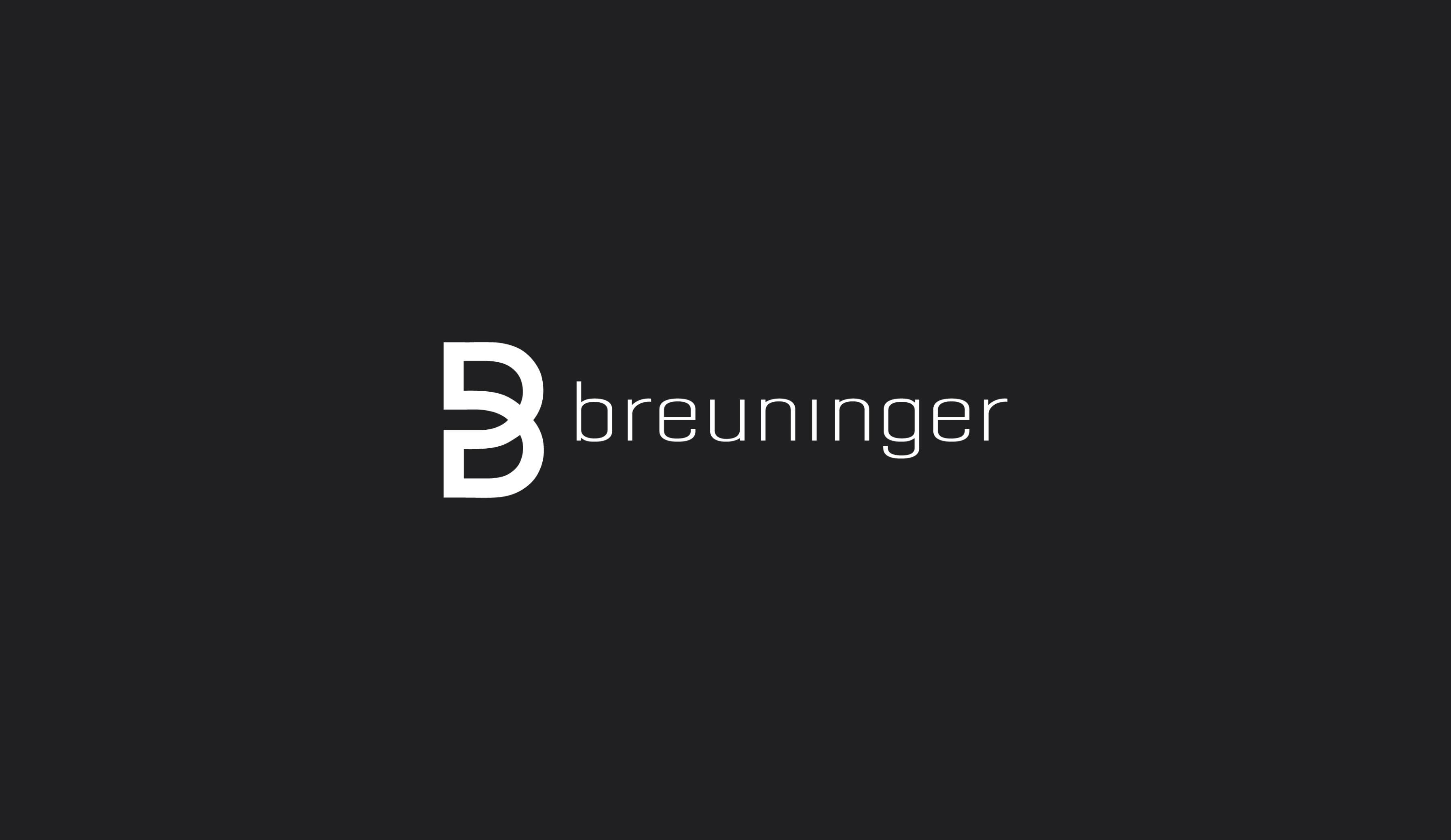 Breuninger department store logo design