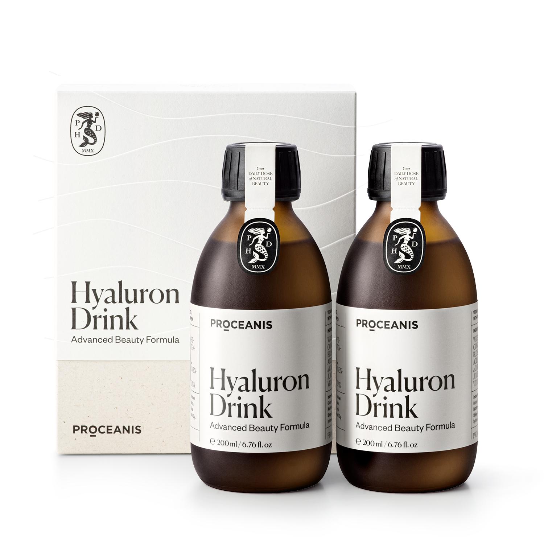 Hyaluron Drink – Doppelflasche - Inhalt: 400 ml (22,48 €* / 100 ml)