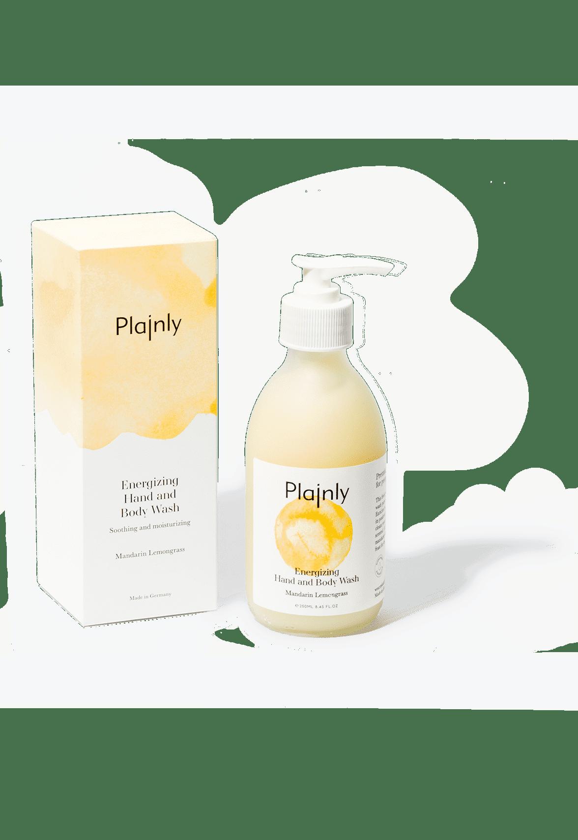 Energizing Hand and Body Wash mit Mandarin-Lemongrass Duft. 250ml.