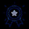 Gamification badge icon