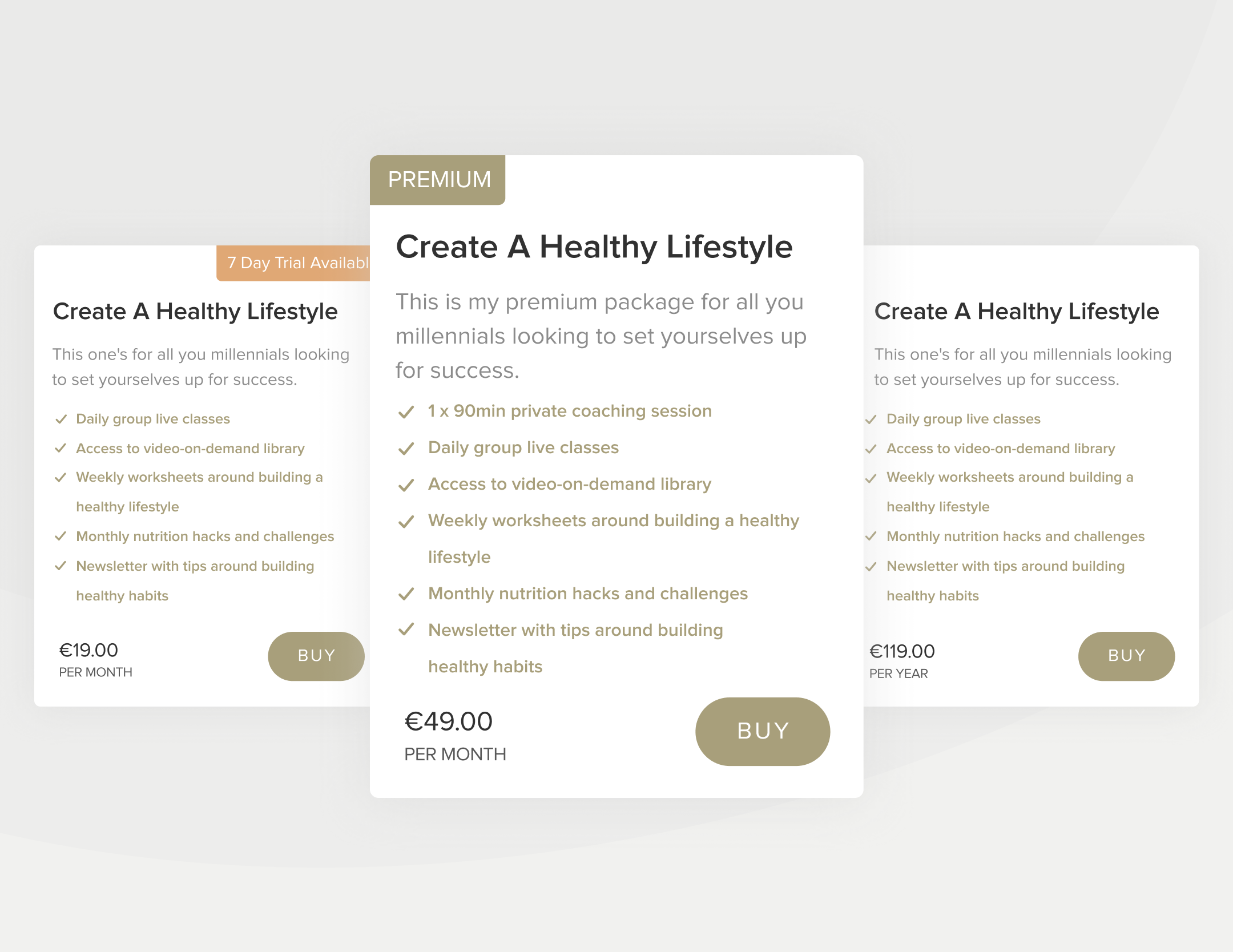 create a healthy lifestyle - this one's for all you millennials looking to set yourselves up for success