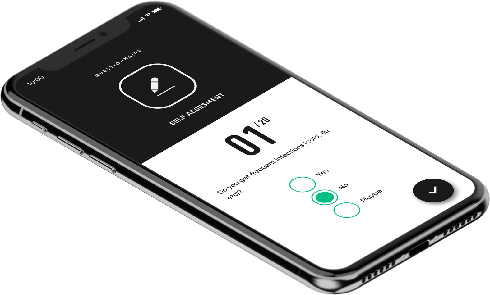 phone with questionnaire example