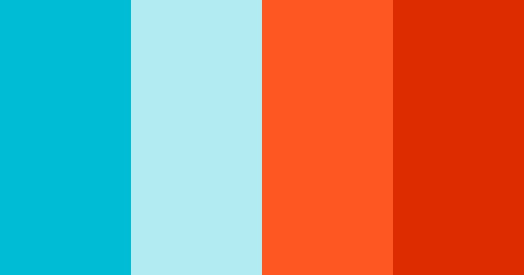 Complimentary colour scheme