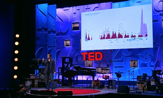 TED Talk on use of data visualisation in presentations.