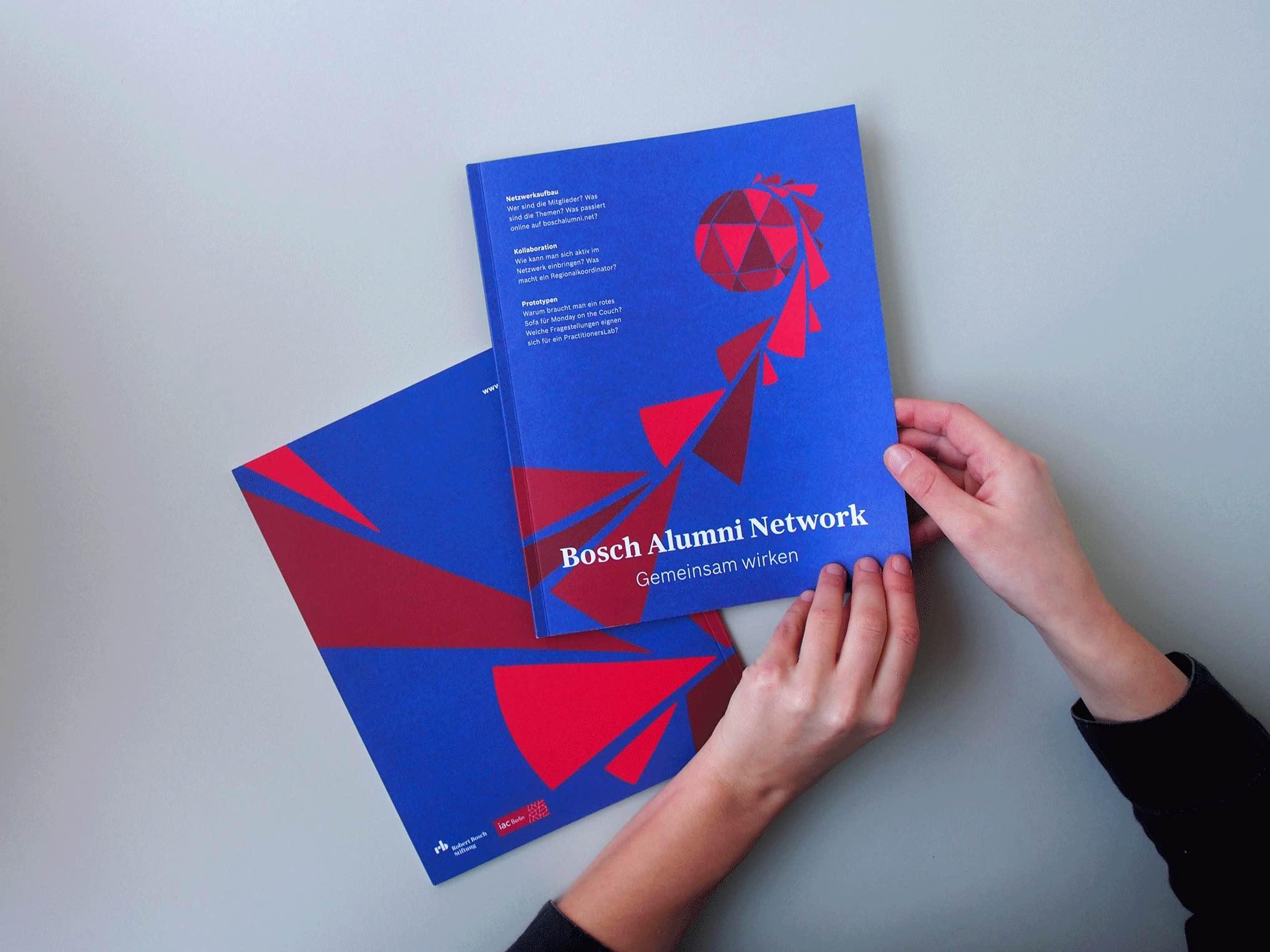 Bosch Alumni Network Magazine Cover