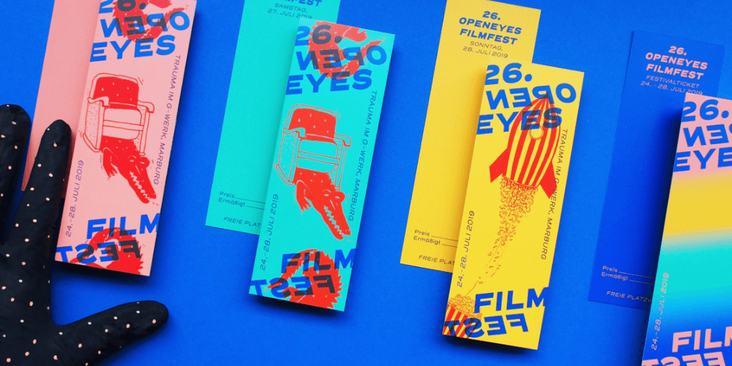 Filmfest Tickets coloured