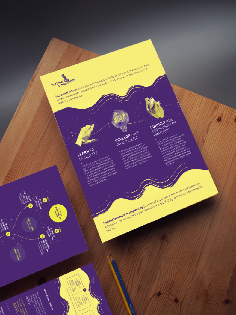booklet about horizontal school