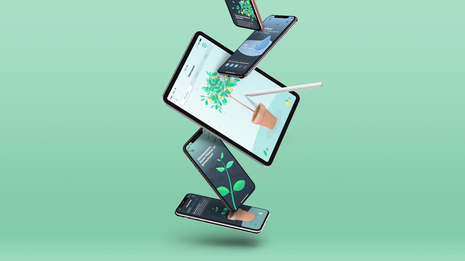 mindance app illustration